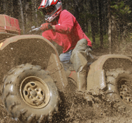 ATV in the Mud.